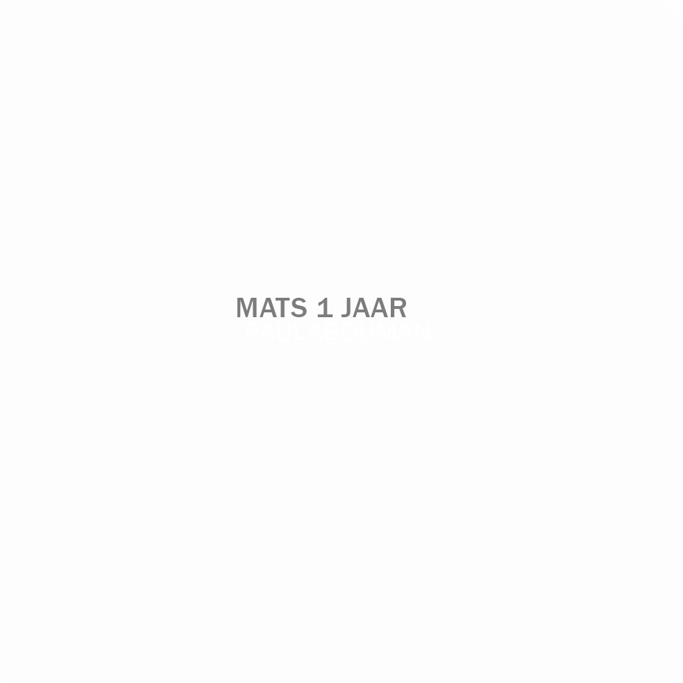 Beveiligd: Mats 1 jaar