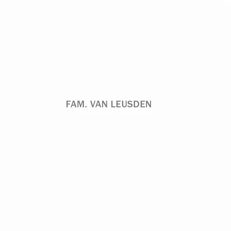 Beveiligd: Fam. van Leusden